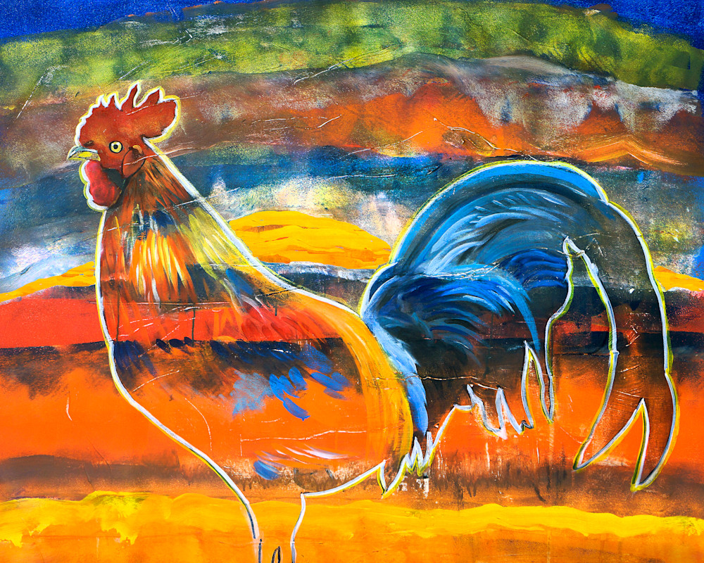 Rooster Art | William K. Stidham - heART Art