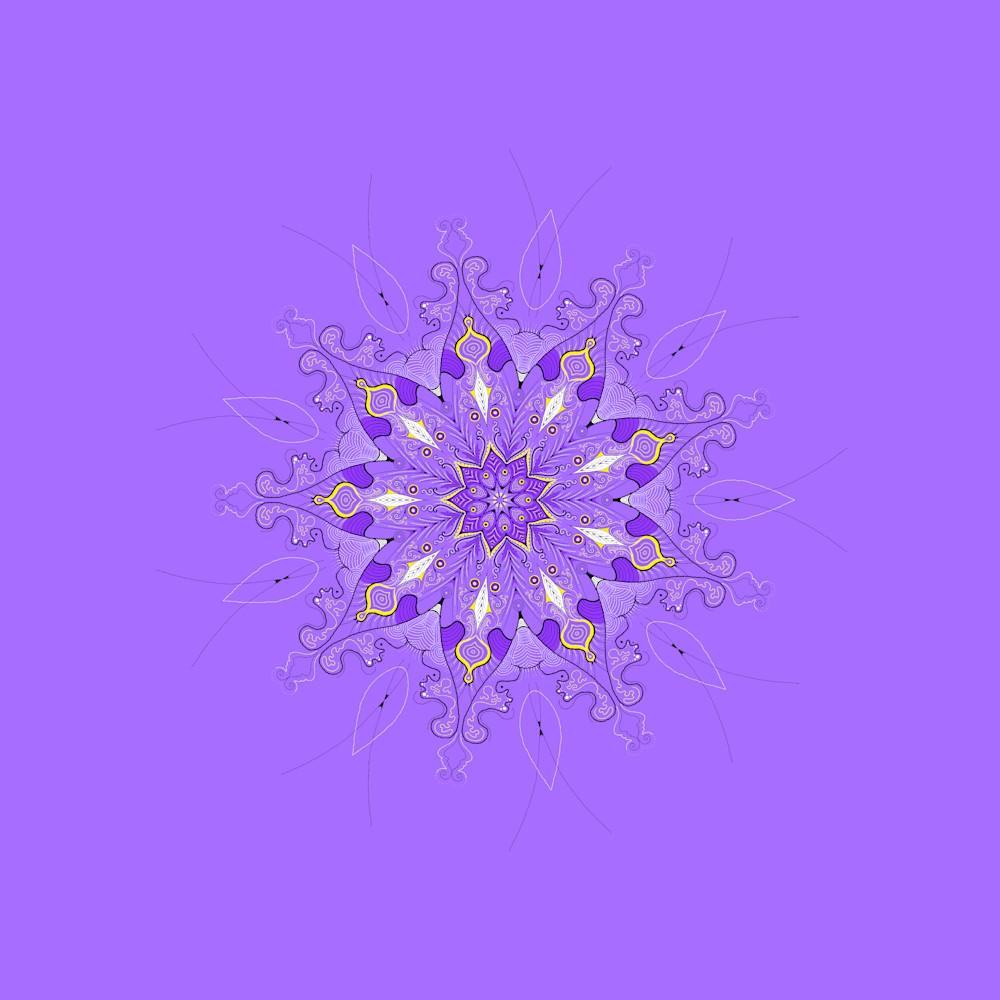 Lavender Sun Square