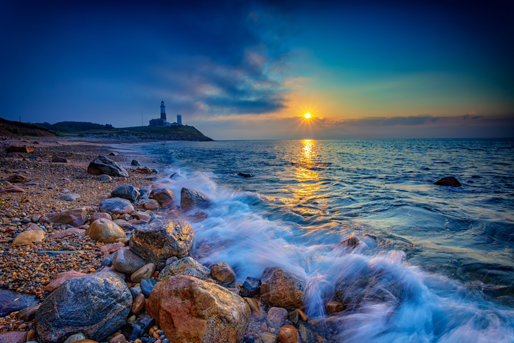 Montauk Sunrise by Rick Berk