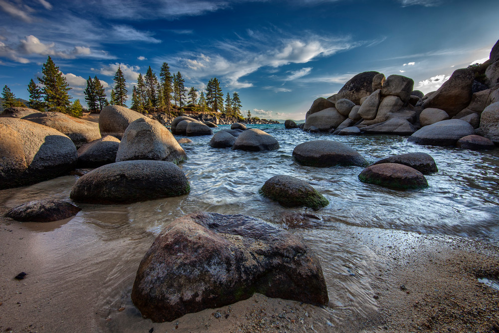 Sand Harbor, By Rick Berk
