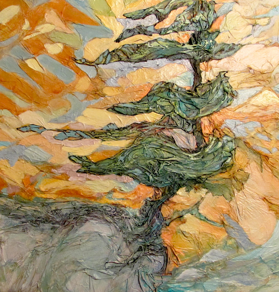 Dancing With Wind | Col Mitchell Contemporary Paper Artist