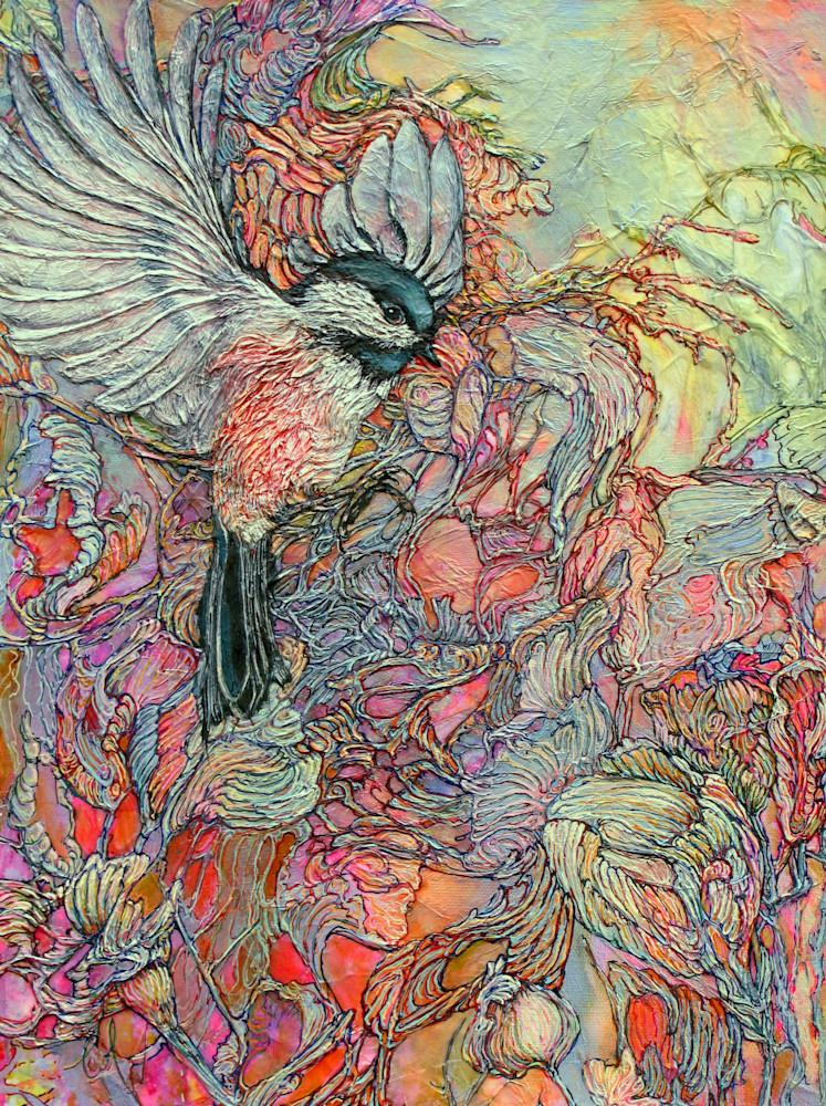 Remembering Delight, Chickadee | Col Mitchell Contemporary Paper Artist