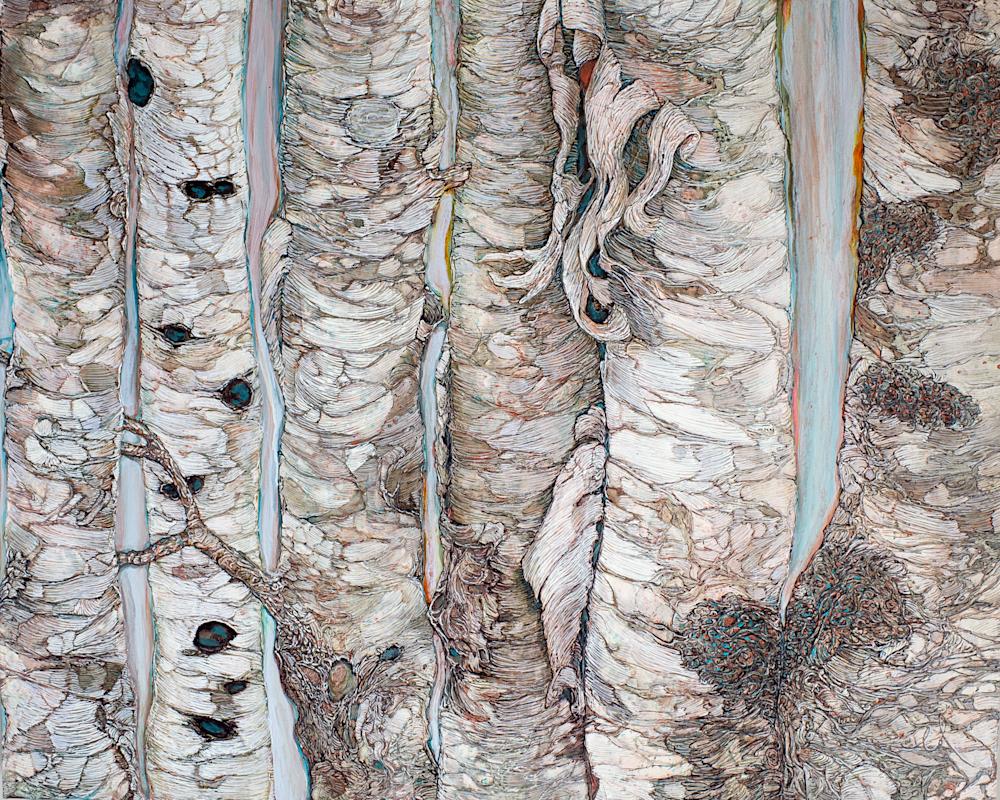 Birchen Forest | Col Mitchell Contemporary Paper Artist