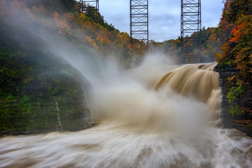 Upper Falls After A Storm, by Rick Berk