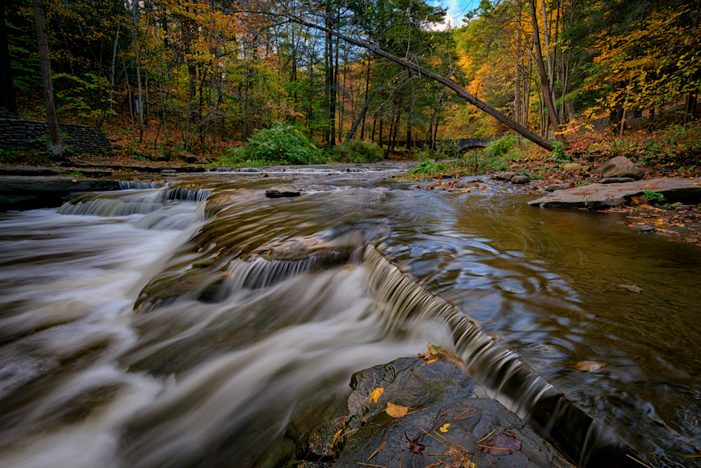 Autumn at Wolf Creek by Rick Berk