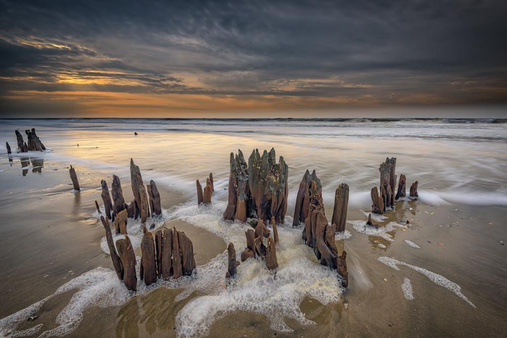 Edisto Island Boneyard Beach by Rick Berk