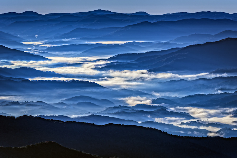 Morning Mist In The Smokies