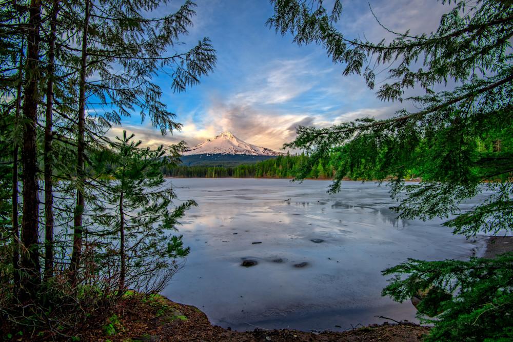 Mount Hood Serenity by Rick Berk