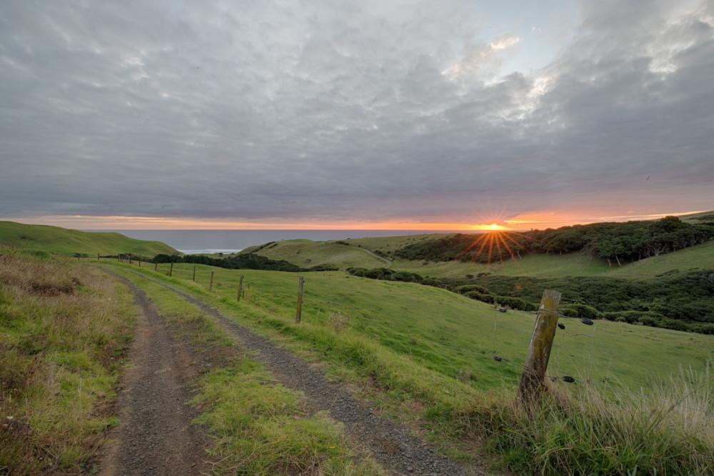 Ruapuke New Zealand Sunset