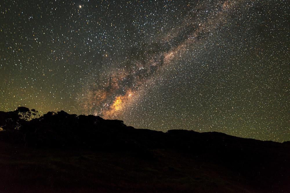 Milky Way Over New Zealand