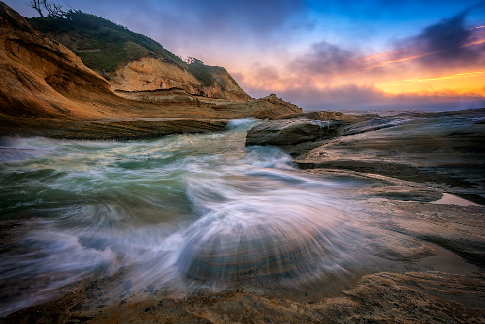 Cape Kiwanda Twilight by Rick Berk