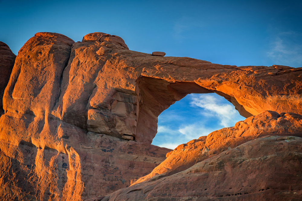 Skyline Arch at Sunset | Shop Photography by Rick Berk