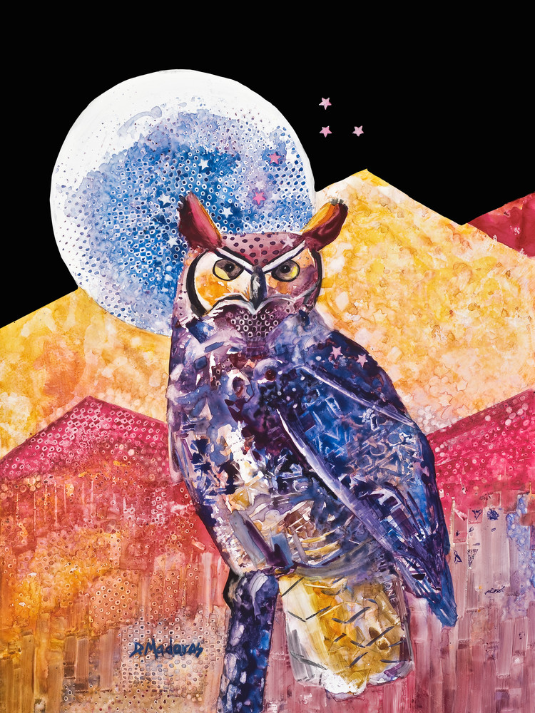 Night Owl Spirit Animals by Diana Madaras