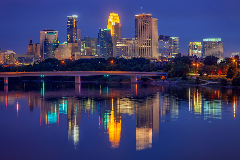 Minneapolis Twilight by Rick Berk