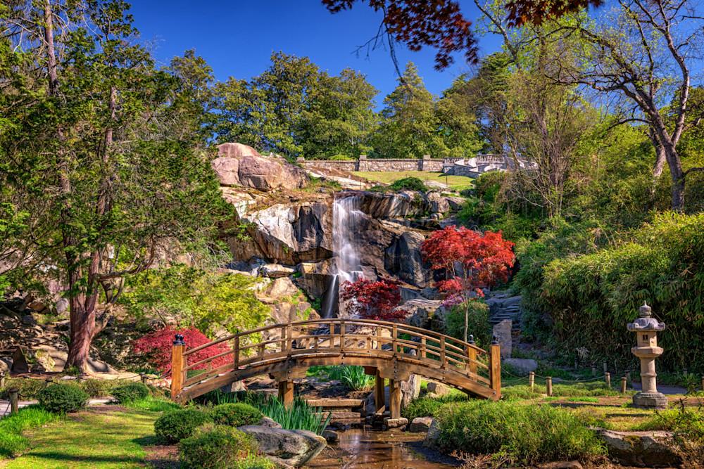Moon Bridge & Maymont Falls by Rick Berk