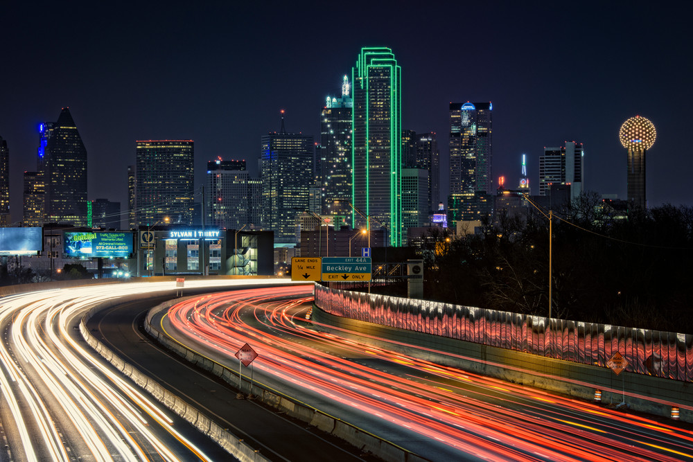 Big D, the city of Dallas, by Rick Berk