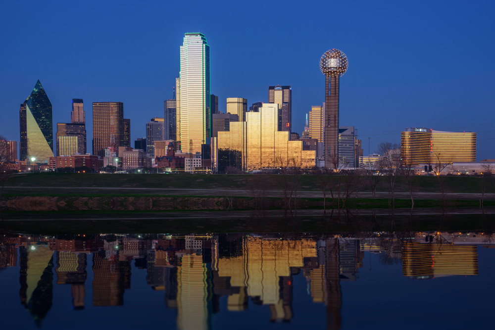 Dallas Twilight by Rick Berk
