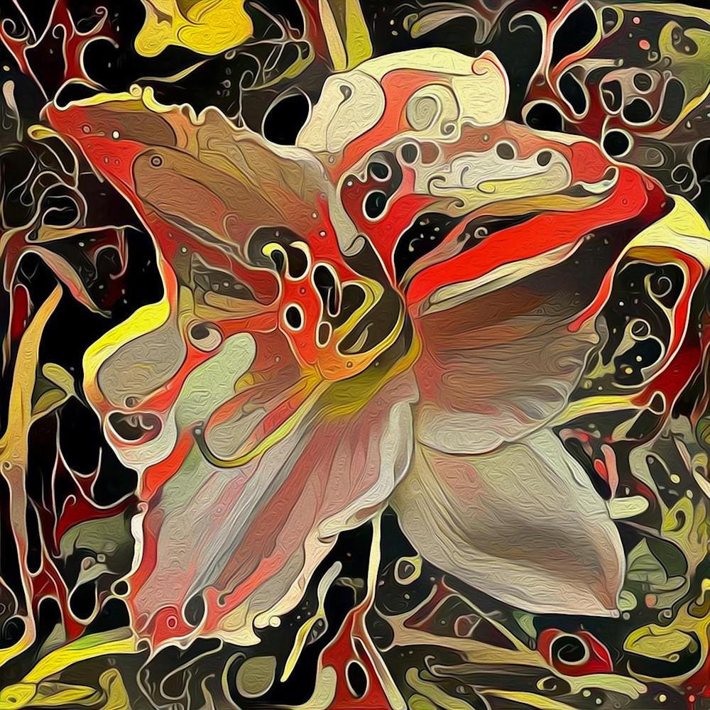 Oil Slick Blossom