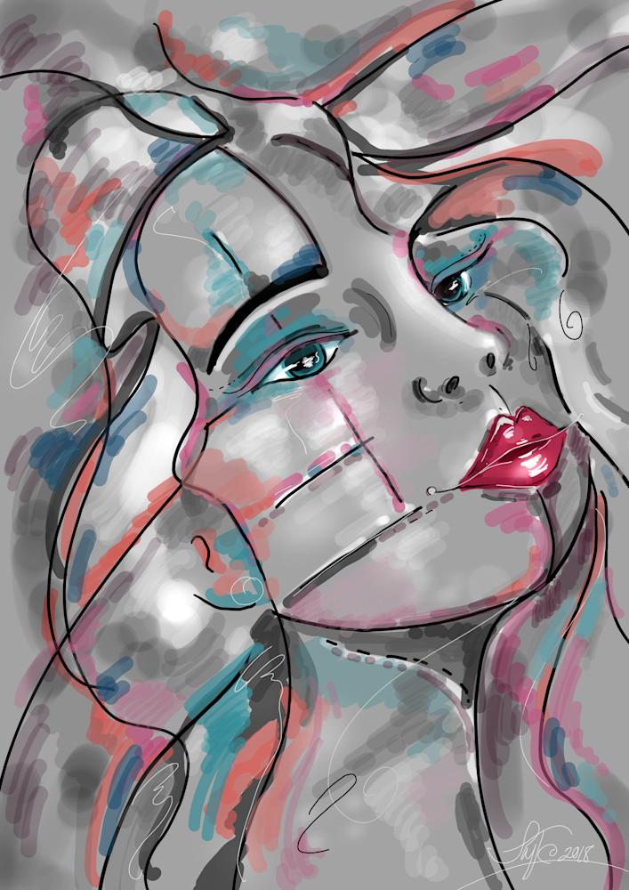 Lost My Way Art | Leslie's Art Studio