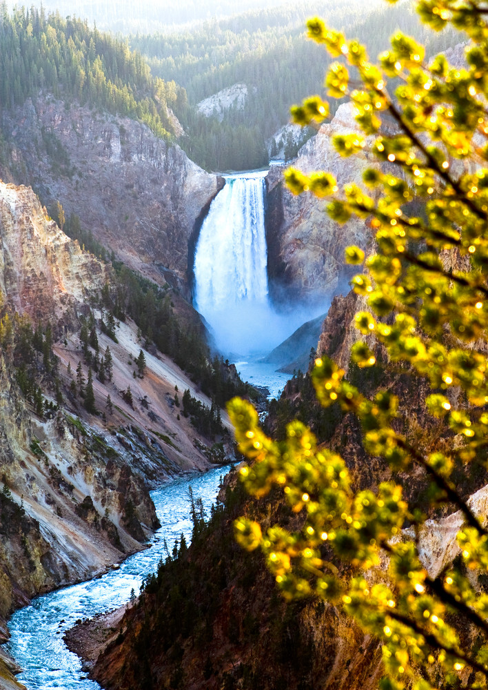 Yellowstone Falls Photography Art | Josh Kimball Photography