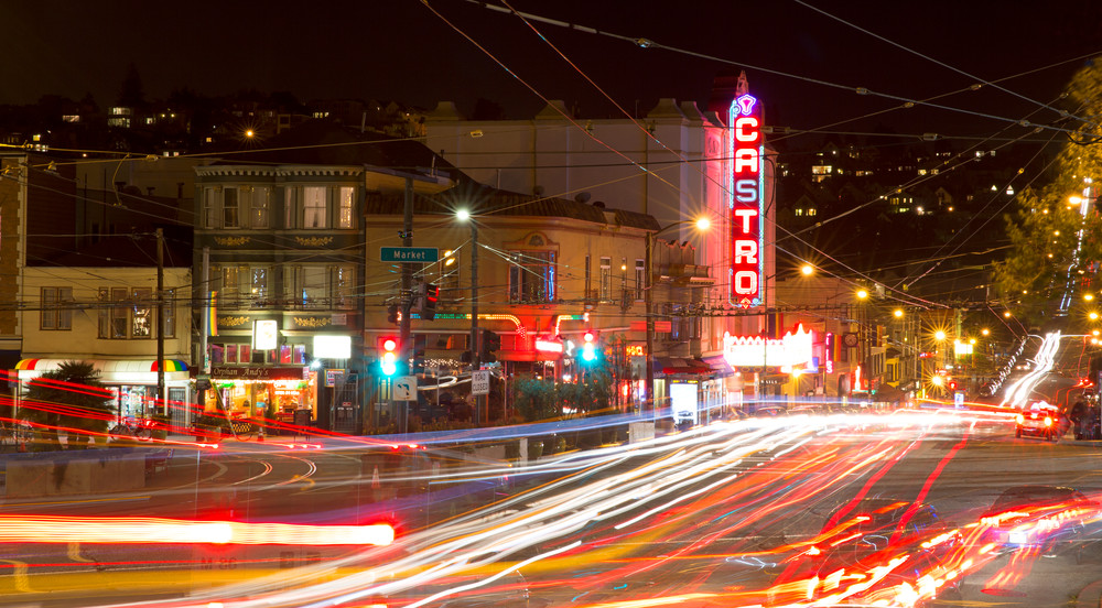 Castro Night by Josh Kimball Photography