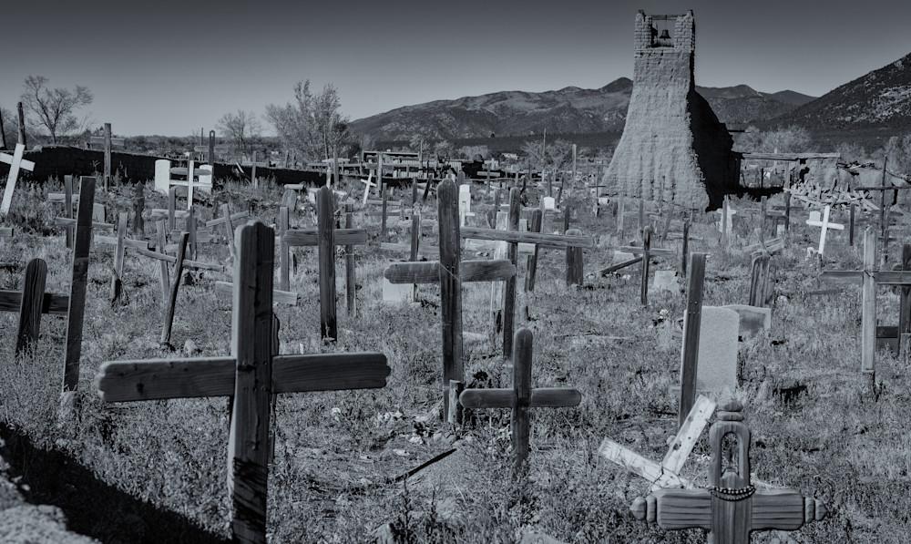 Cemetary - Taos Pueblo New Mexico