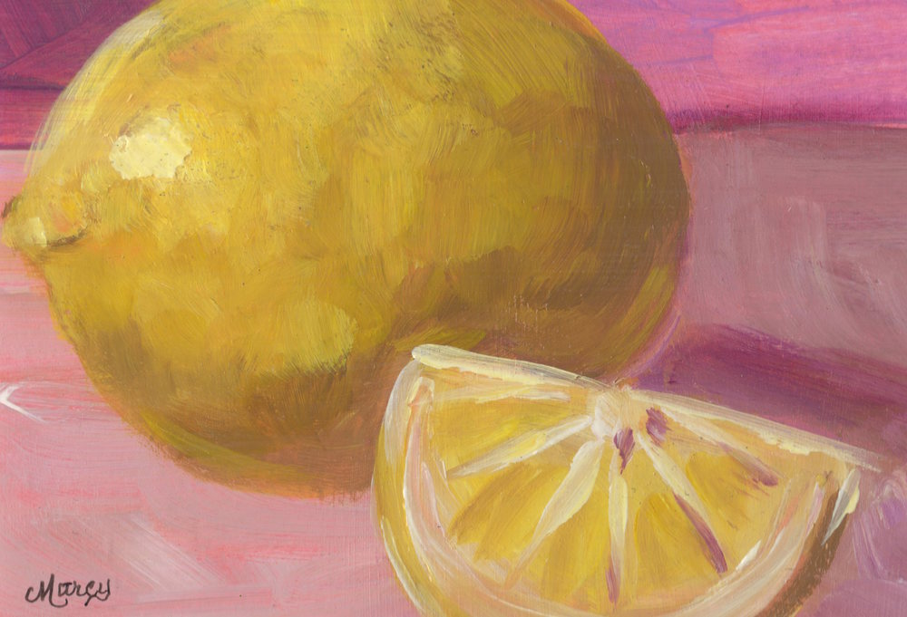 Lemon Glow Art | Marcy Brennan Art