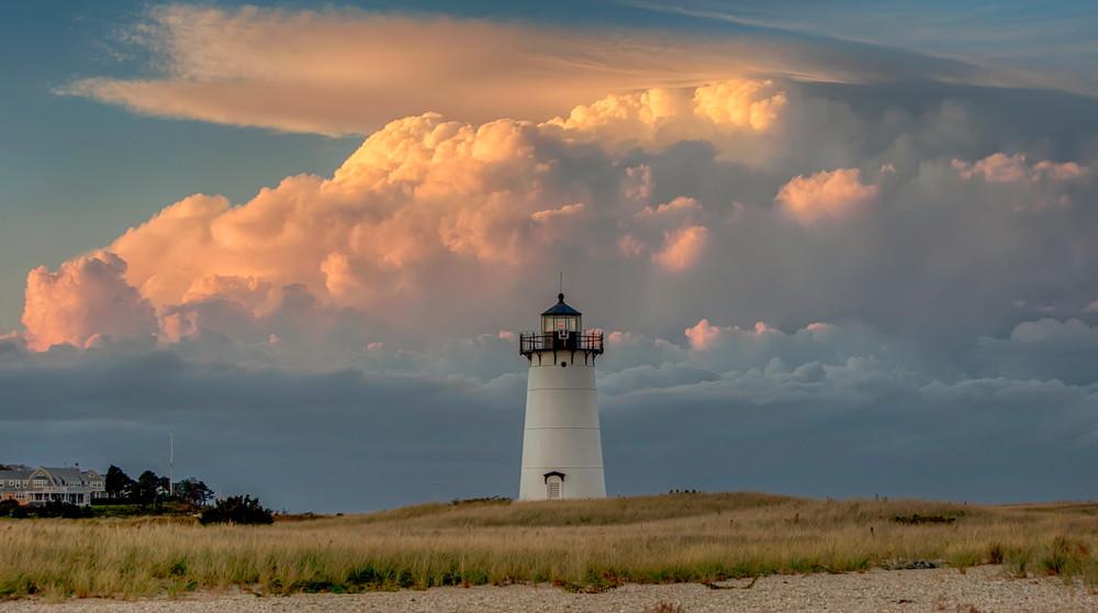 Edgartown Light Thunderstorm Clouds