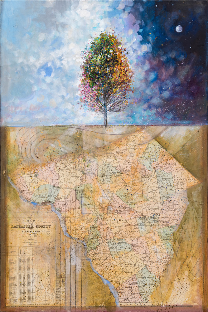 Lancaster Tree Of Life Art | Freiman Stoltzfus Gallery