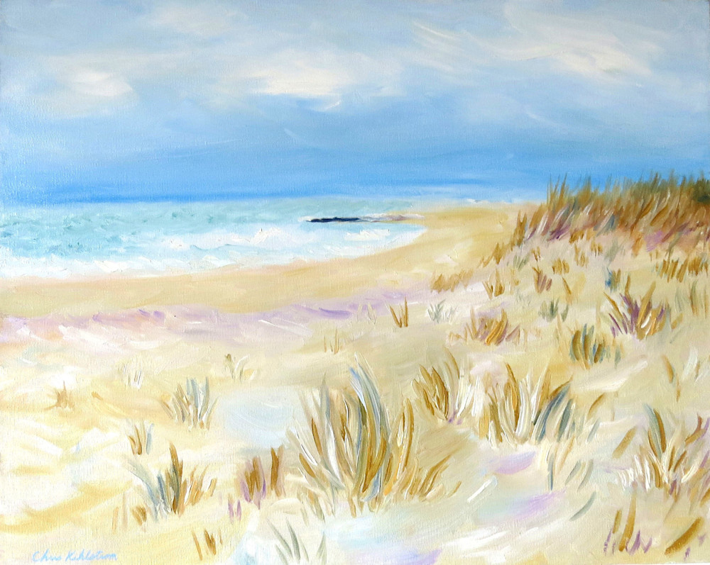 Quiet Beach Painting