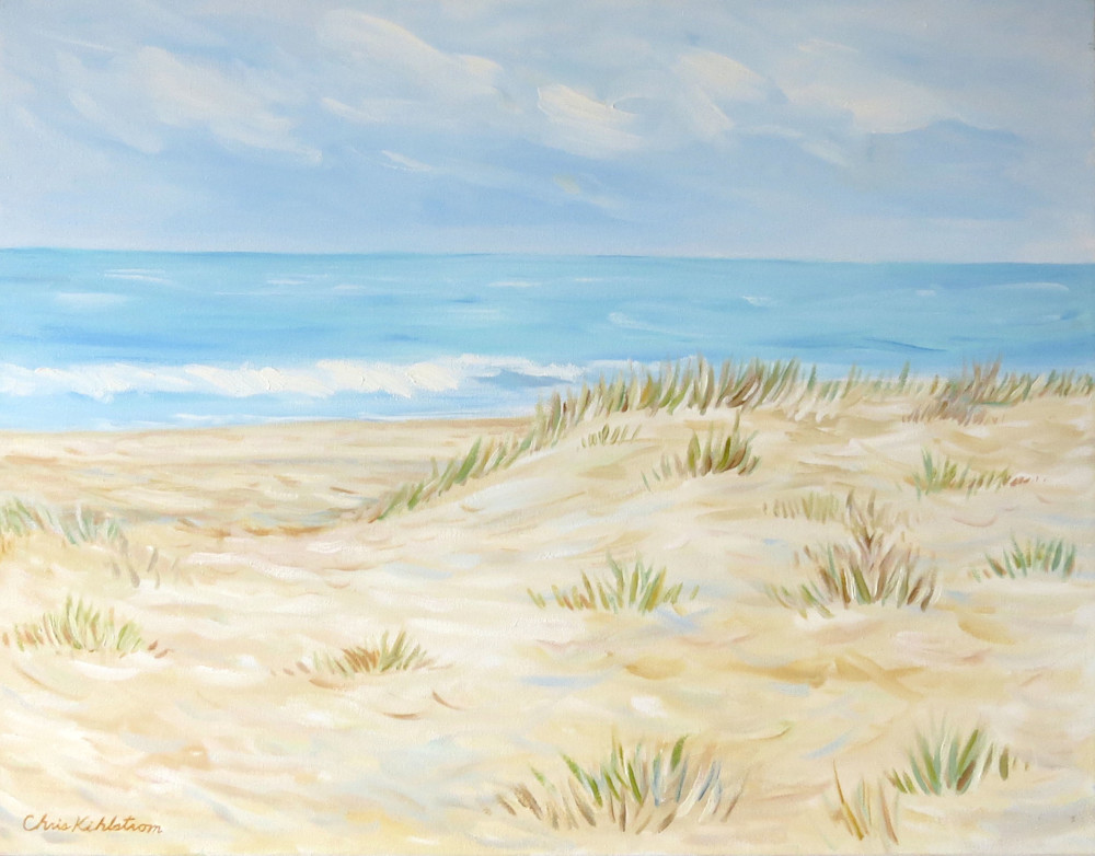 Beach Waves Painting Art | kihlstromfineart