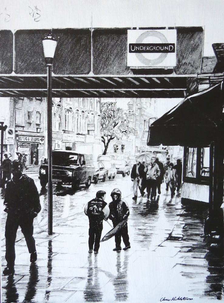 Rainy Day In London Art | kihlstromfineart
