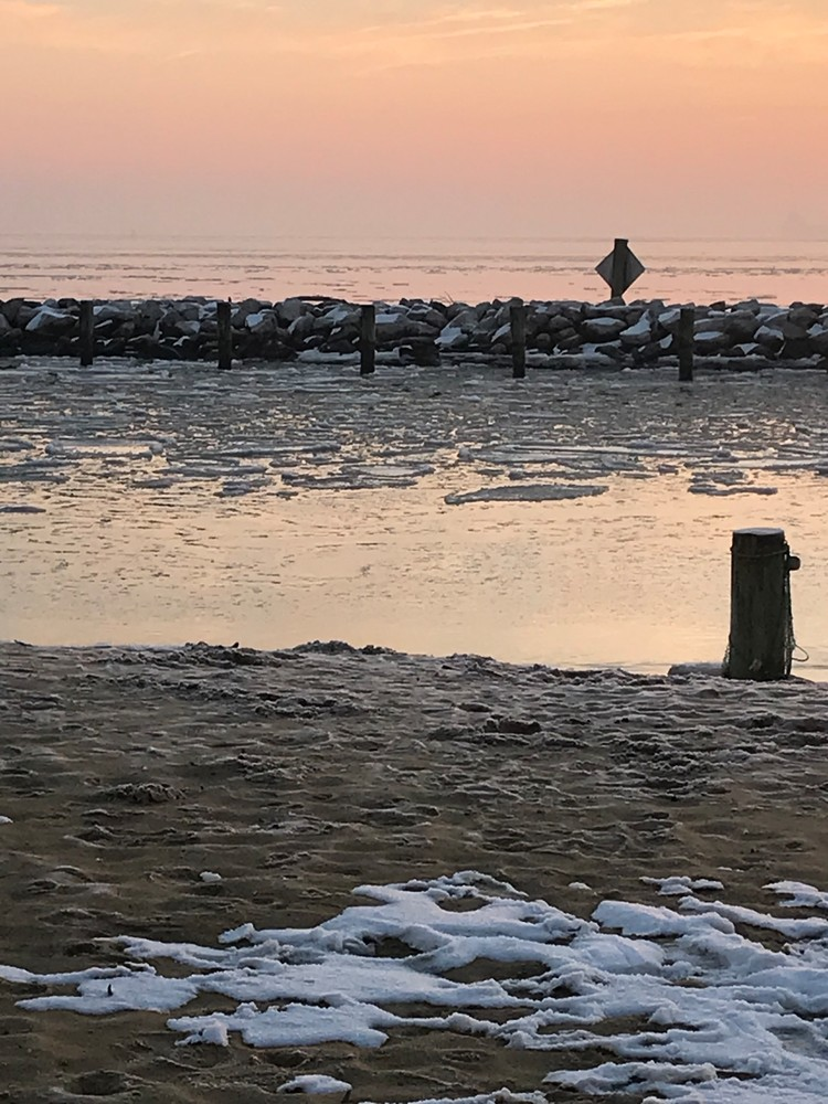 Chesapeake Bay Silent Ice Photo
