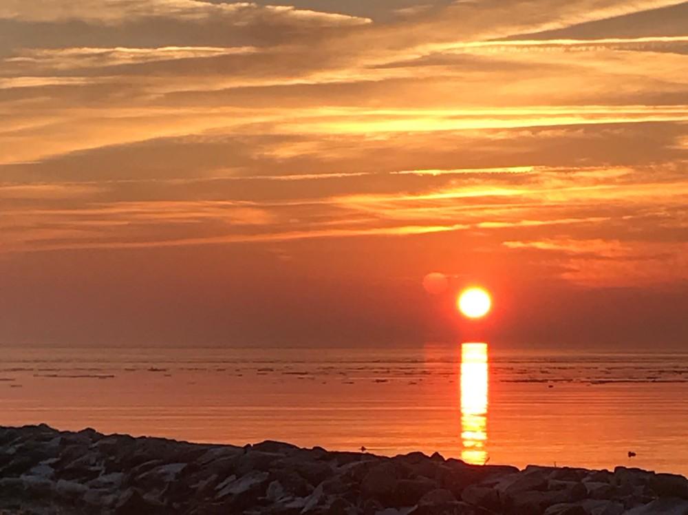 Chesapeake Bay Morning Sky