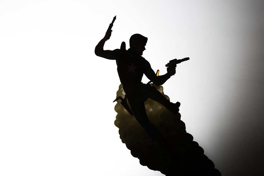 Buck Rogers Silhouette  Photography Art | Nathan Larson Photography, LLC