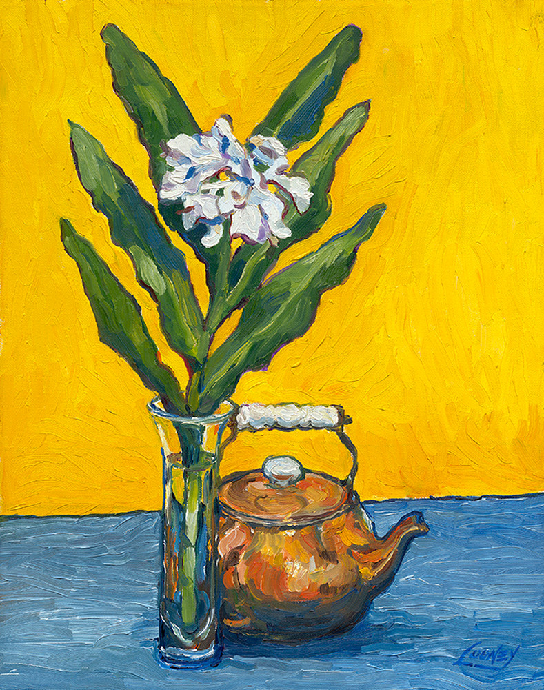 Ginger With Teapot Art | Digital Arts Studio / Fine Art Marketplace