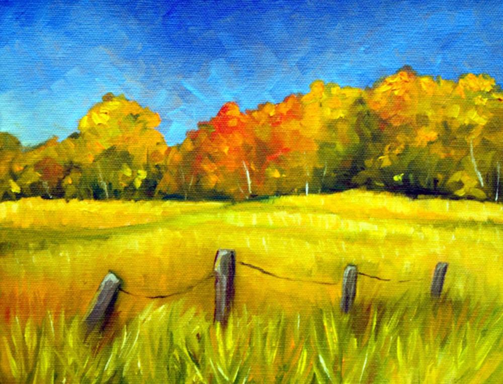 Autumn colors on the range fine art print
