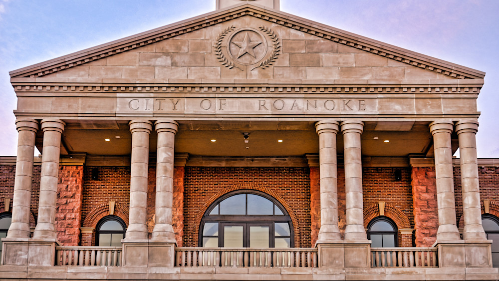 Roanoke Town Hall 22 Detail Photography Art   Drone Video TX