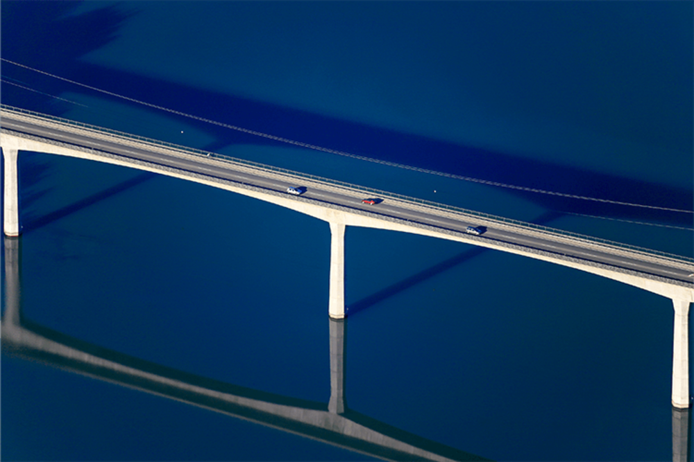 Lechbrücke | Beperkte oplage kunst print | A-Galleria