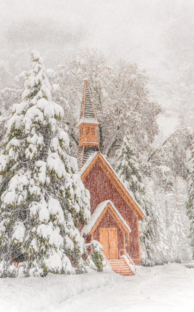 Yosemite Chapel Photography Art | Gale Ensign Photography