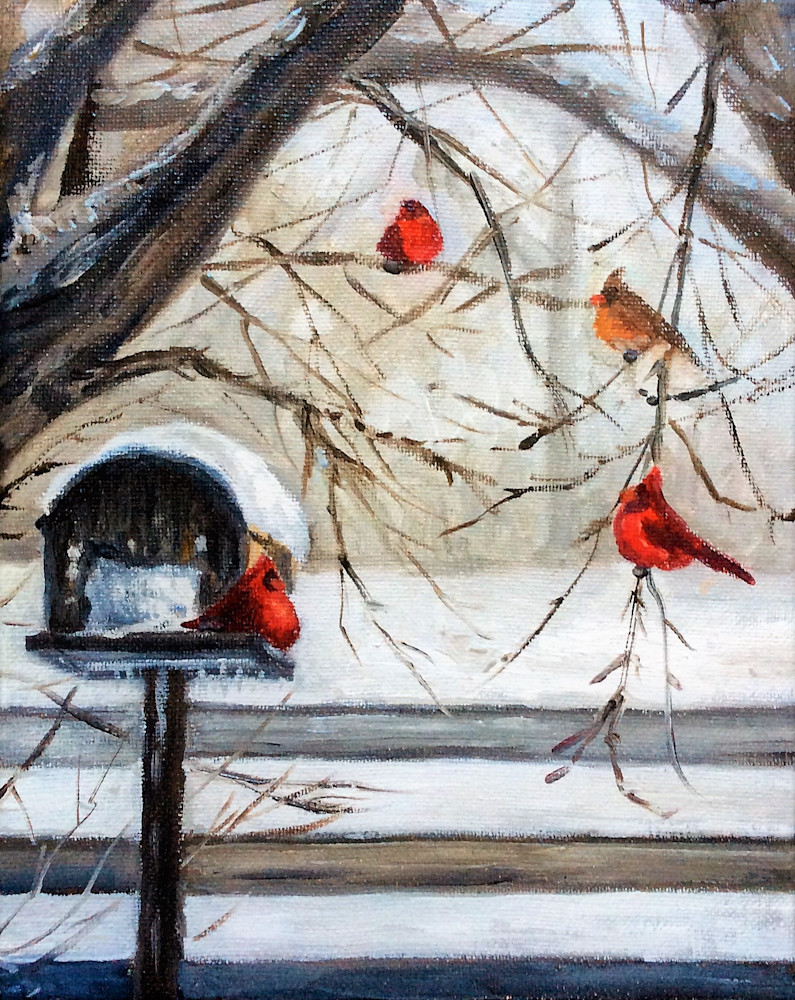 The Cardinal Convention fine art open edition print