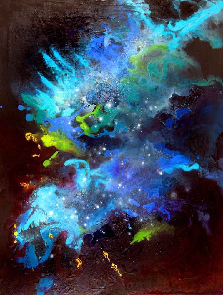 Blue Transformation Art | Joan Marie Art