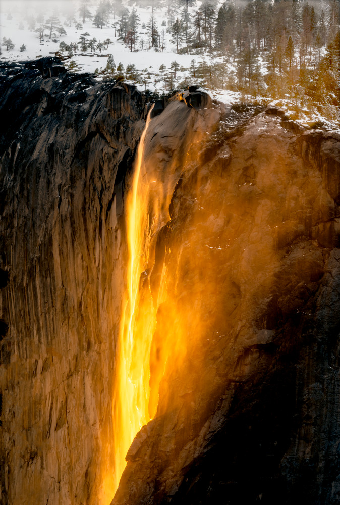 Horsetail Falls Photography Art | Gale Ensign Photography