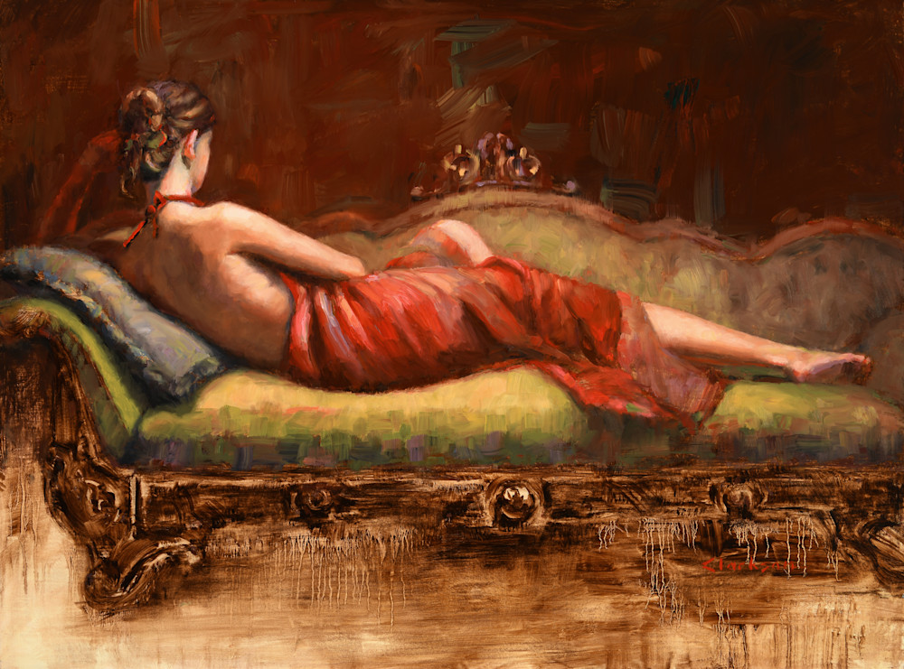 Wrapped in Red Fine Art Print
