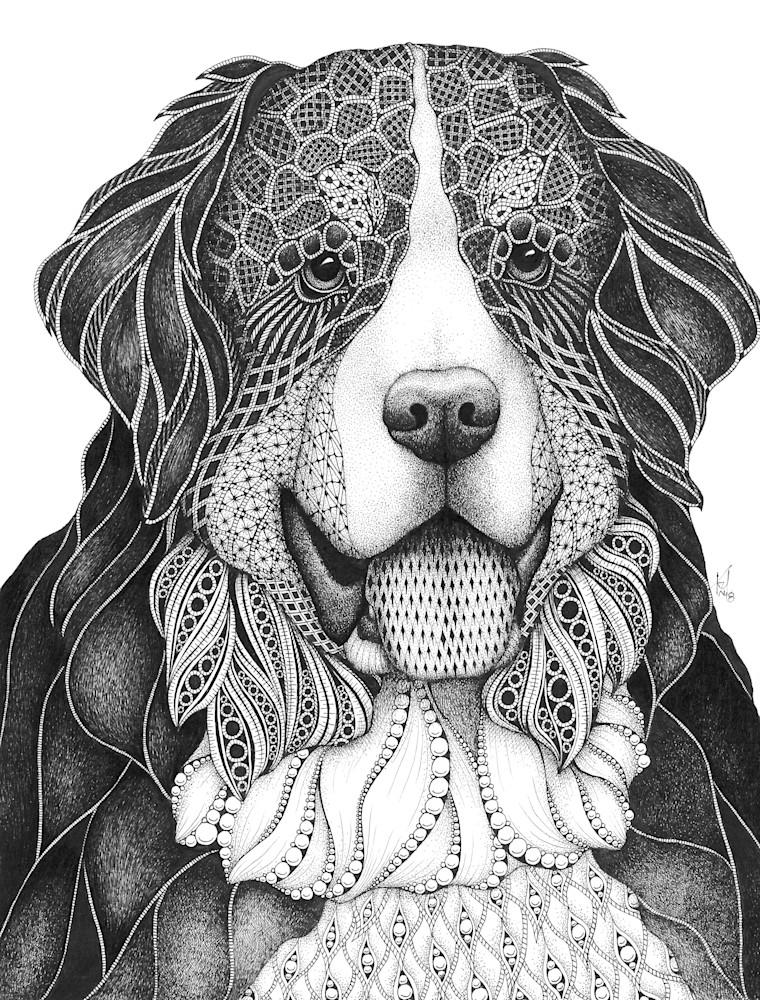 Bernie (Bernese Mountain Dog)