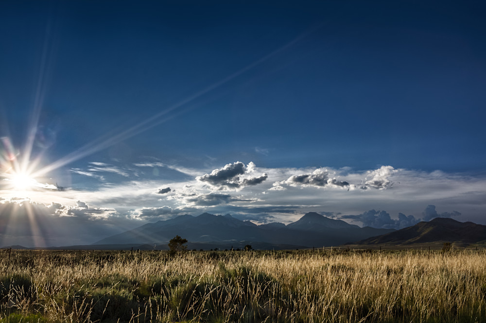 Sangre de Cristo Sunset-Colorado