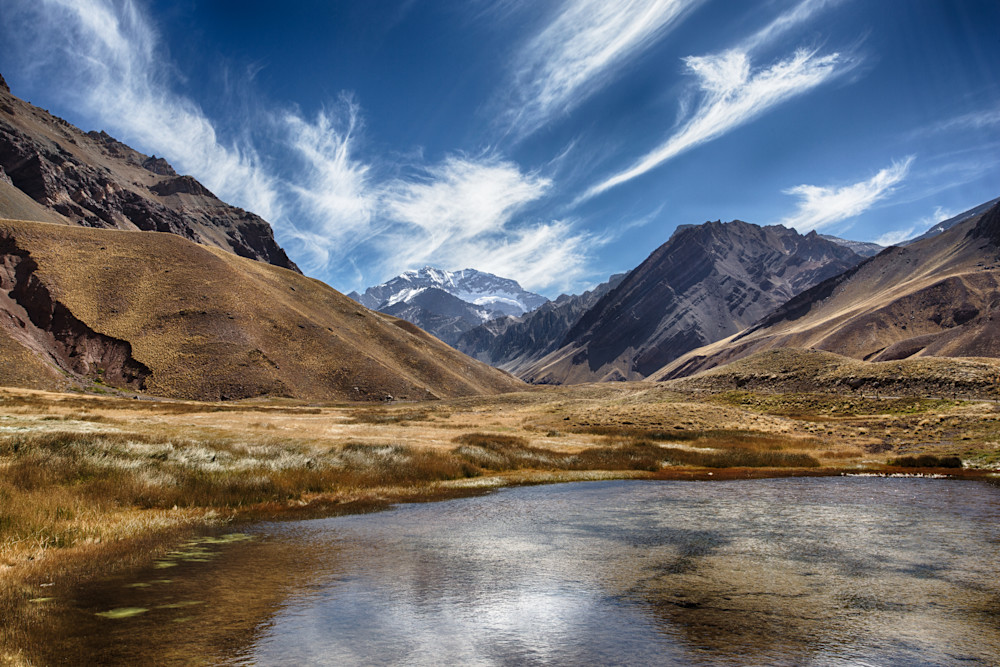 The Approach To Aconcagua In Argentina Photography Art | Nathan Larson Photography, LLC