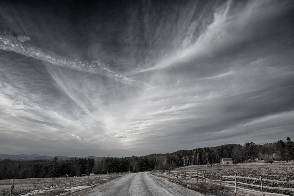 The Day Of First Snow On The Farm Photography Art | Nathan Larson Photography, LLC