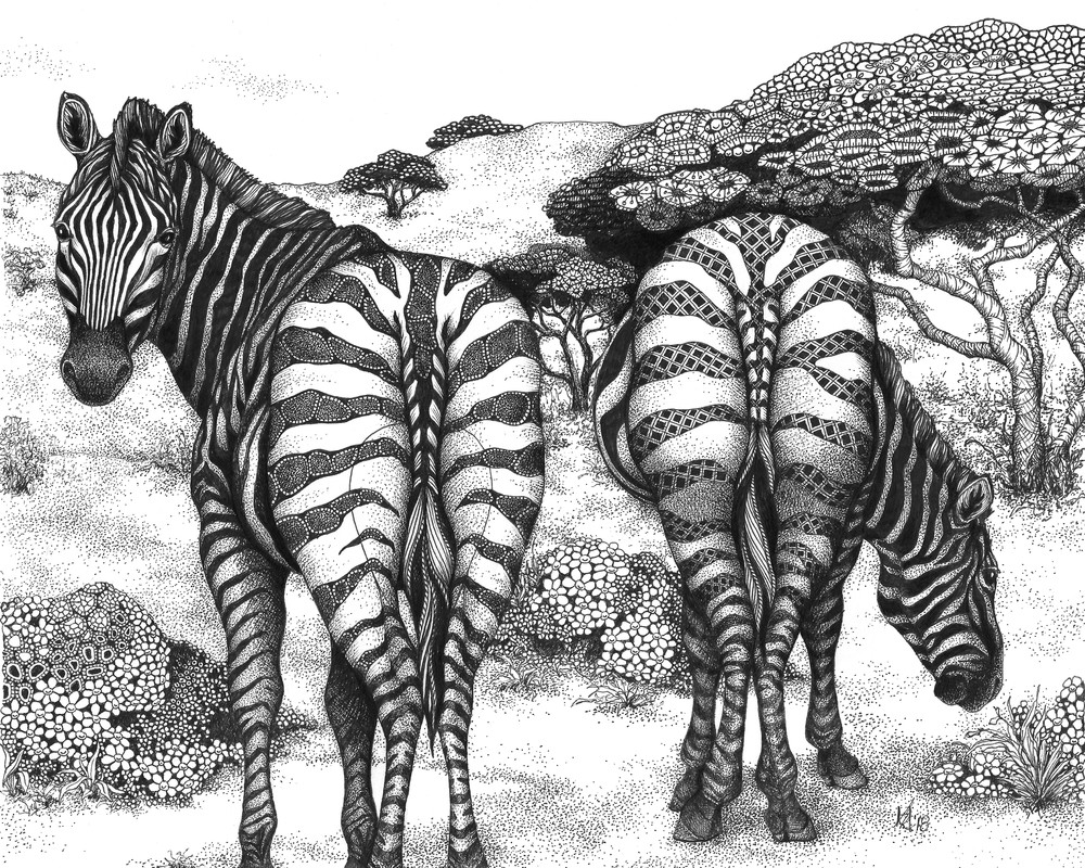Two of a Kind (Zebra)