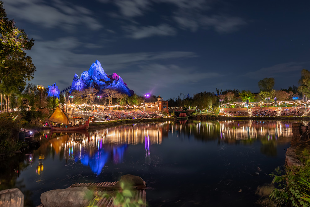 Reflections of Everest - Expedition Everest Disney | William Drew Photography